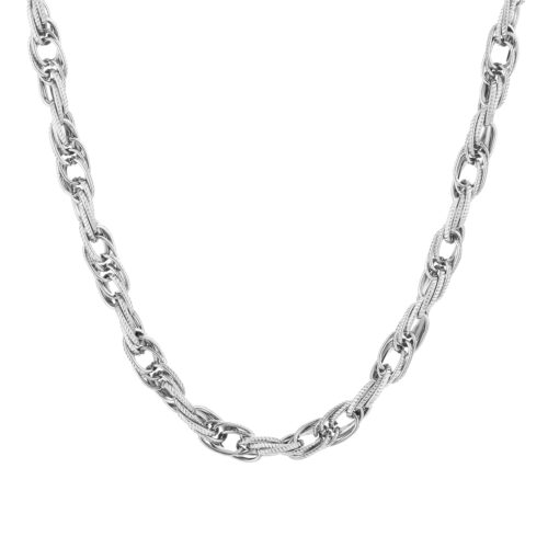Zilveren chain ketting