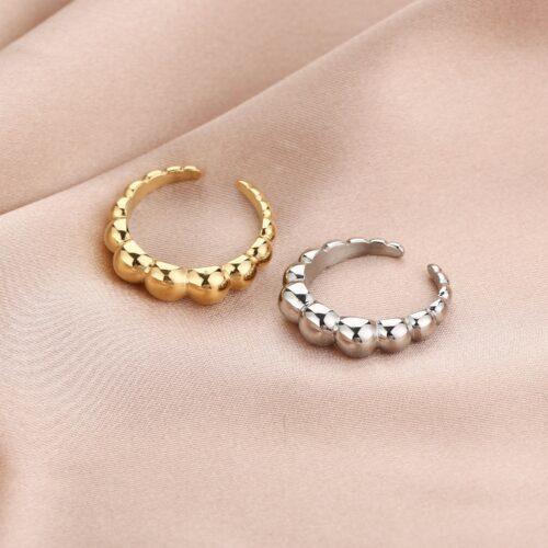 Circle ring goud zilver