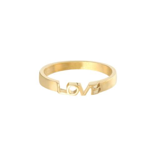 Love ring goud