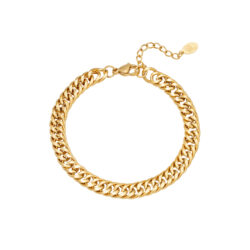 Chunky chain armband