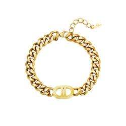 lock chain armband