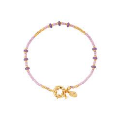 Beads armband lila