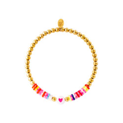 Colorful beads armband