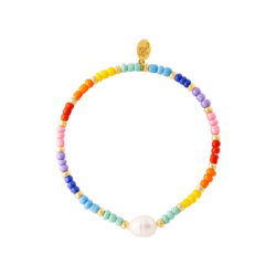 Regenboog kralen armband