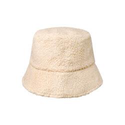 Teddy bucket hat off white