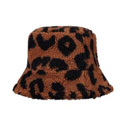 Teddy Bucket Hat Leopard