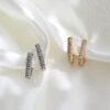 shimmer spark oorbellen met steentjes